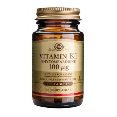 Vitamin K1 100mcg tabs 100s