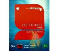 ME Krill Oil 500mg softgels 30s