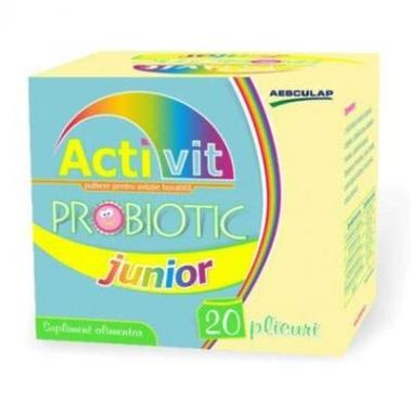 Activit probiotic junior x 20 plicuri