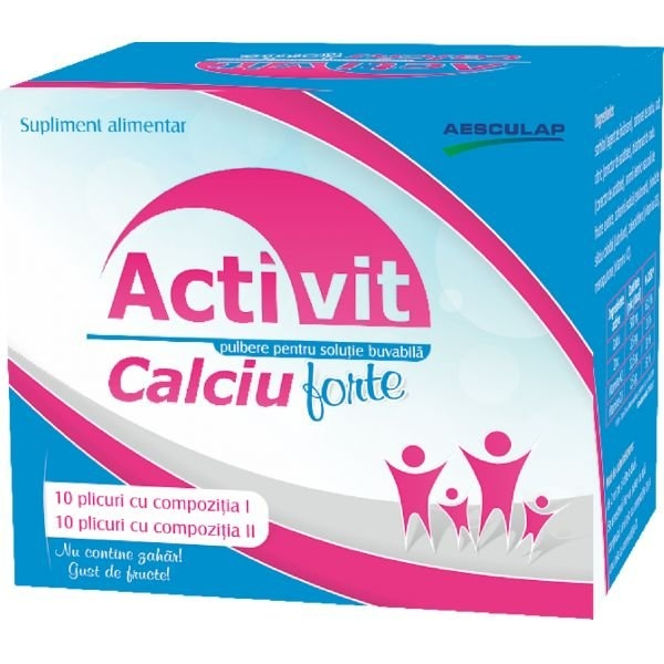 Activit Calciu Forte 20 plicuri