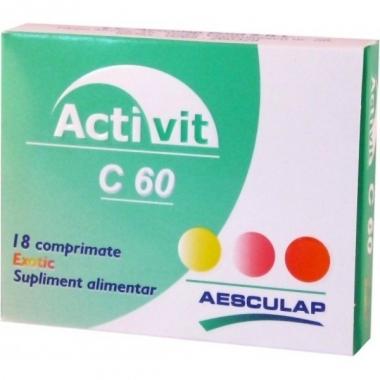 Activit C 100mg exotic x 18cpr
