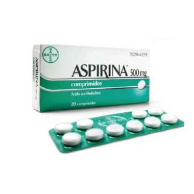 Aspirin 500mg 20cpr.