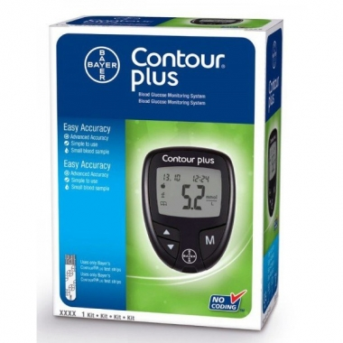 Contour Plus Bayer glucometru