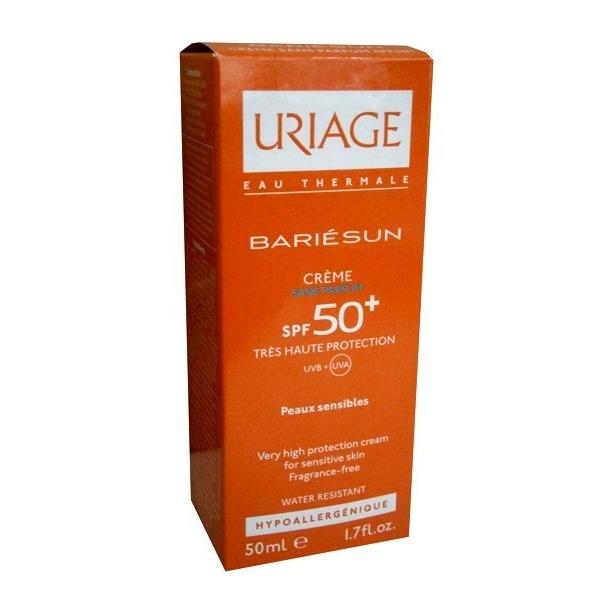 Uriage Bariesun SPF50+ crema fara parfum 50ml