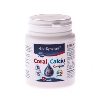 Calciu Coral Complex 60cps
