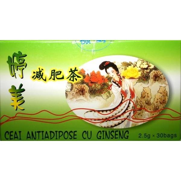 Ceai antiadipos China 2,5g 30doze
