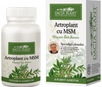 Artroplant cu MSM 72cpr -20% GRATIS