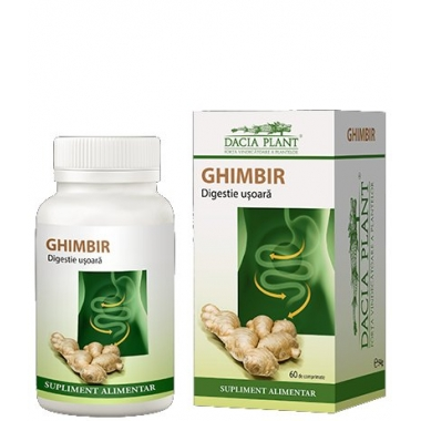 Ghimbir 72cpr -20% GRATIS
