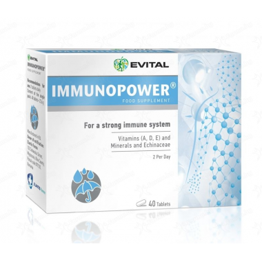 Evital Immunopower, 40 tablete