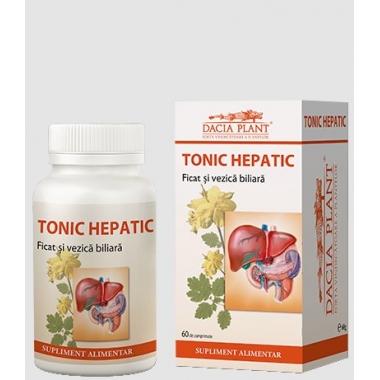 Tonic hepatic 72cpr -20% GRATIS