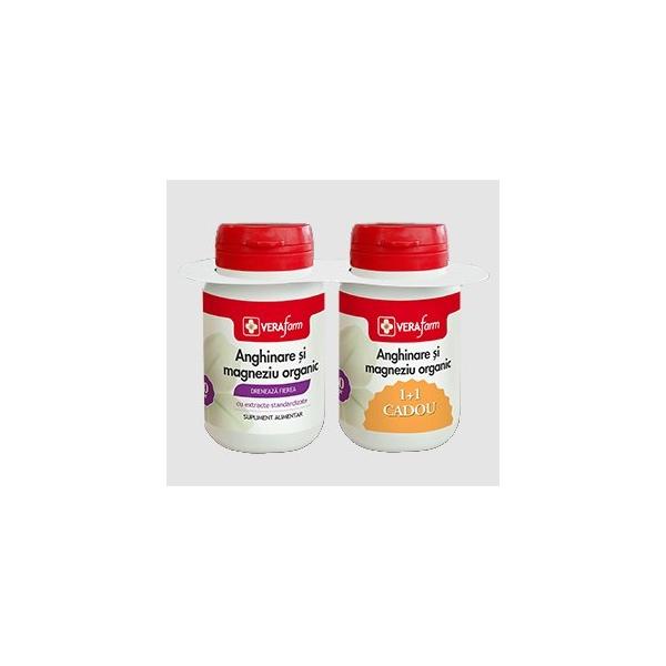 Vera Farma Anghinare si Magneziu organic 30cpr 1+1 GRATIS