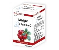 Merisor & Vitamina C 30cps