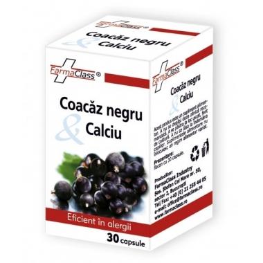 Coacaz Negru & Calciu 30cps