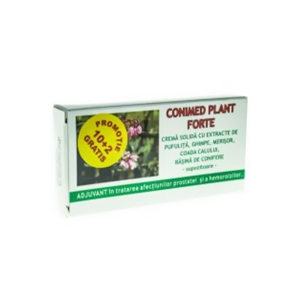 Conimed Plant Forte supozitor 1,5g x 10