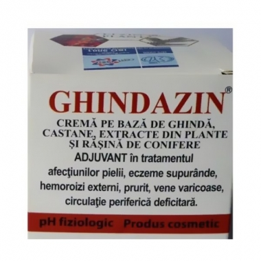Ghindazin crema ghinda&conifere 50ml