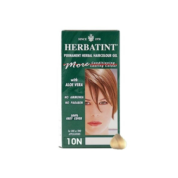 Colorant blond platinat 10N Herbaint