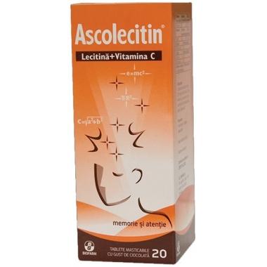 Ascolecitin 20tbl masticabile