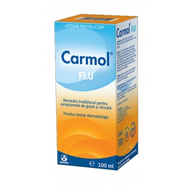 Carmol Flu lotiune frectie 100ml
