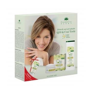 SET CADOU Q10 crema antirid+lapte demachiant
