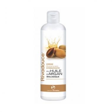 Rivadouce Crema de dus si baie hidratanta cu ulei de argan 500ml