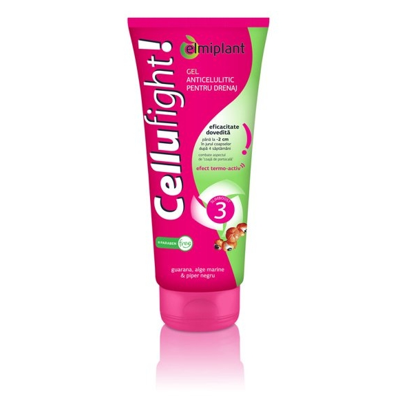 Cellufight Gel anticelulitic + Ulei de masaj anticelulitic -70%