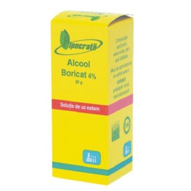 Alcool boricat 4% 20g