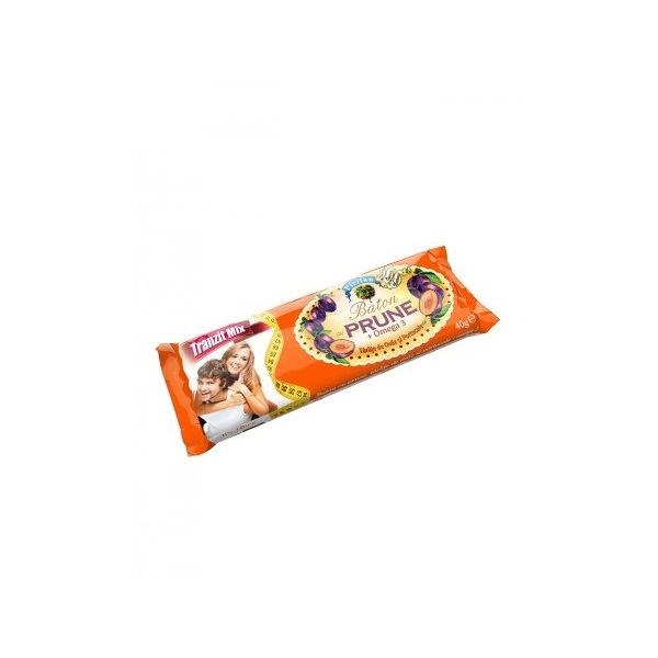 Baton Prune + Omega 3 + Portocale 40g