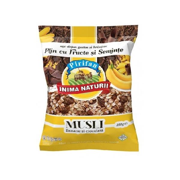 Musli banane & ciocolata 250g