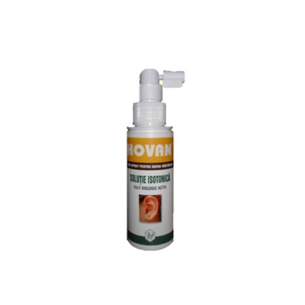 Hovan Spray pentru curatirea urechilor 50ml