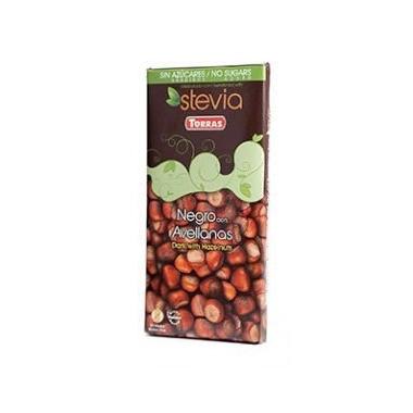 Ciocolata neagra alune 125g