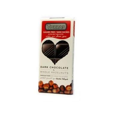 Ciocolata neagra alune 150g