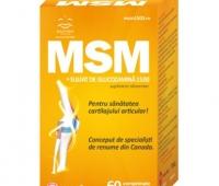 Barny's MSM + Sulfat de Glucozamina 1500 60cpr