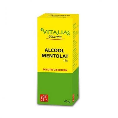 Alcool mentolat 1% 40g