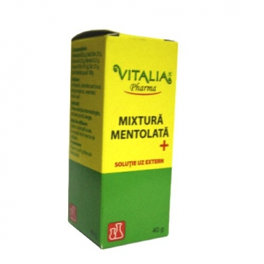 Mixtura mentolata plus 40g