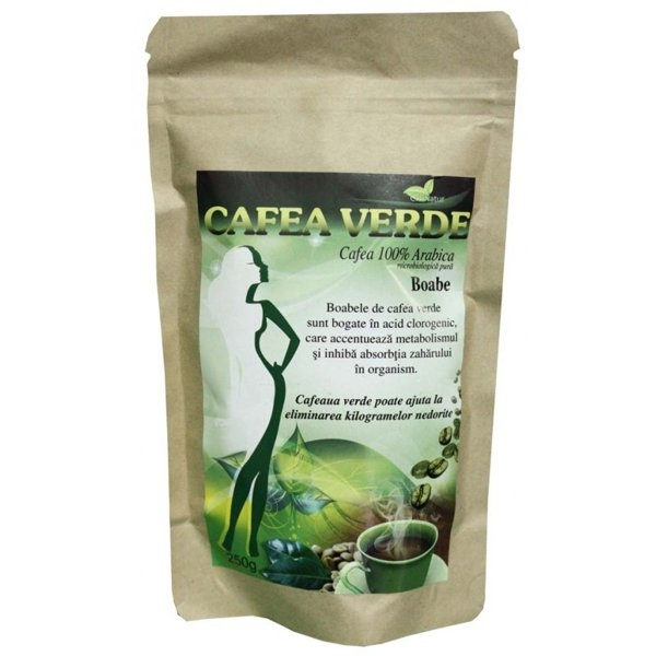 Cafea verde boabe 250g