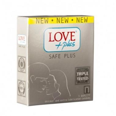 Prezervative Love Plus Safe Plus 3buc