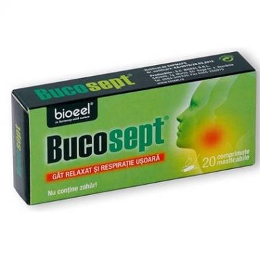 Bucosept 20cpr