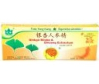 Ginkgo Biloba + Ginseng 10 fiole x 10ml