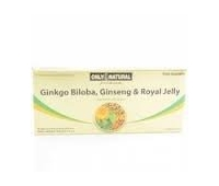 Ginkgo Biloba + Ginseng + Royal Jelly 10 fiole x 10ml