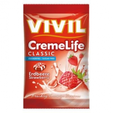 Vivil Crema Life capsuni fara zahar 110g