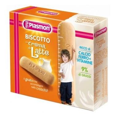 Biscuiti crema lapte cu calciu, fier si vitamine 300g