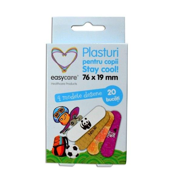 Plasturi copii Stay Cool 76 x 19mm 20buc