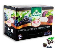 Naturavit fructe de padure si mangostan 15dz x 2g
