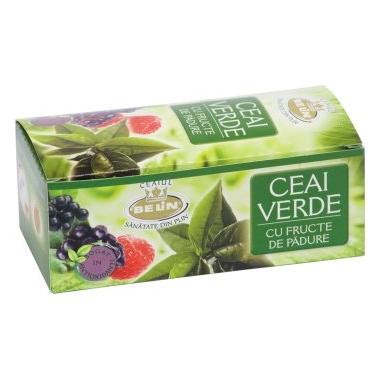 Belin Verde cu fructe de padure 20dz x 2g