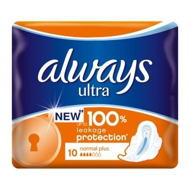 Always Ultra Normal Plus 10buc