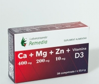 Ca+Mg+Zn+Vitamina D3 30cpr