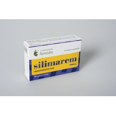 Silimarem 1000mg 30cps