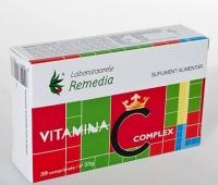 Vitamina C Complex 30cpr
