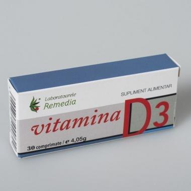 Vitamina D3 30cps
