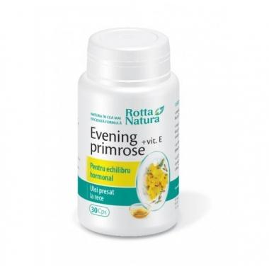 Evening Primrose + Vitamina E 30cps